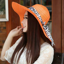 Fashion Girls Wide Large Brim Summer Beach Sun Hat Straw Floppy Bohemia Cap
