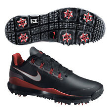 Nike Tiger Woods TW '14 Golf Shoes - 599416 001 - New Mens Black Golfing Shoes