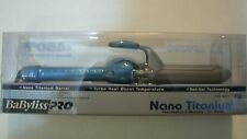 Babyliss Pro BABNT125S Professional Nano Titanium Spring Curling Iron 3/4 1 1/2