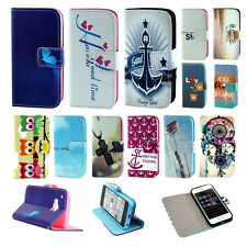 LOVELY WALLET HOLDER SOFT BACK FLIP PU LEATHER COVER CUTE CASE FOR SAMSUNG