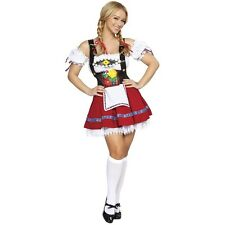 Fraulein Sweetheart Adult Sexy German Girl Wench Beer Maid Oktoberfest Costume