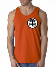 Goku's Training Tank Top  Dragon Ball Z Anime Kame Symbol Funny Adult Small-2XL