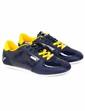Voi Jeans Mens Trainers, Mens Voi Murano Sports Shoes Navy Yellow - GENUINE