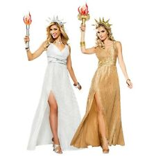Statue of Liberty Halloween Costume Adult Sexy Lady Fancy Dress