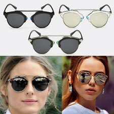 Hot New Vintage Women Cat Eye Retro Glasses Outdoor Modern Casual Sunglasses
