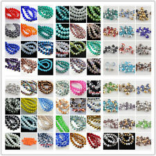 100pcs 3x2mm Glass Crystal Faceted Rondelle Spacer Beads Lampwork Findings