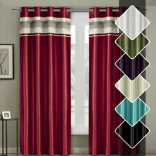 Milan Grommet Blackout Multilayer Lined Window Curtain Panel