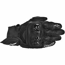 ALPINESTARS GPX Leather Motorcycle Gloves (Black) Choose Size