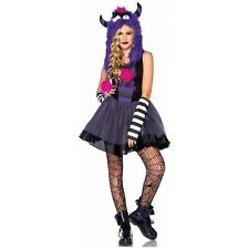 Punky Monster Costume Teen Junior Preteen Tween Halloween Fancy Dress