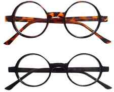 Vintage Inspired 50s style Round Circle Clear Lens Glasses Eyeglasses