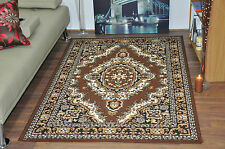 New Brown Extra Large Modern Traditional Medallion Area Rugs Carpet Cheap Rug