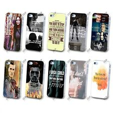 NUOVO HUNGER GAMES Katniss MOVIE preventivo HARD CASE COVER PER APPLE IPHONE 4 5 5S 5C