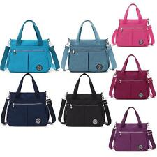 Women Tote Handbag Popular Inclined Shoulder Messenger Bag Waterproof Bookbag