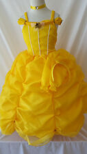 Disney Beauty and the Beast Princess Costume Dress Up Deluxe Shimmer 12-24M 2-10