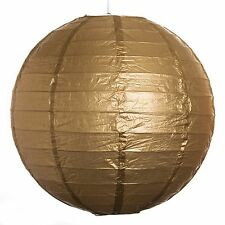"""Gold Paper Party Wedding Lanterns - 12"""", 16"""" and 20"""" sizes"""