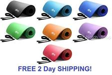 Extra Thick Foam Exercise Yoga Mat Gym Workout Fitness Gymnastics Mats Large Pad