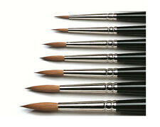 WINSOR AND NEWTON SERIES 7 SABLE WATERCOLOUR BRUSH Standard Bristle Length
