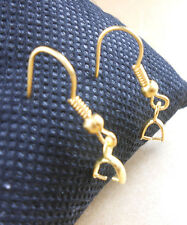 Wholesale Design 18K GOLD Plated Pinch Bail Earring French Ear Wires Hooks HOT