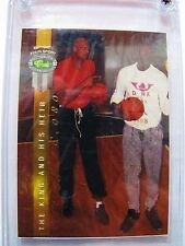 1992 Classic #1 The King and His Heir Shaquille O'Neal Kareem Abdul Jabbar Card