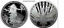 1 OZ SILVER COIN PROOF *ENEMY UNKNOWN-ARISE DOUBLE OBVERSE 1000 MINTED