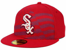 Official MLB 2015 Chicago White Sox July 4th Stars Stripes New Era 59FIFTY Hat