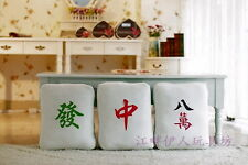 original Chinese mahjong bolster/cushion, 3 pcs per set, decorate your home