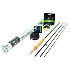 """NEW - Orvis Superfine Carbon Fly Rod Outfit 5wt 8'6"""" - FREE SHIPPING!"""