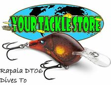 Rapala DT06 Dives To Pick Color & Qty NEW 2017 Craw Colors DT Factory Direct