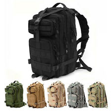 Outdoor Military Tactical Backpack Rucksack Camping Hiking Trekking Bag Day Pack