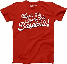No Crying In Baseball Youth T Shirt League Of Their Own Tee For Kids