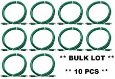 10 x pcs 3m GREEN Network Cable Ethernet UTP LAN Cat5/Cat5e Computer Patch Lead