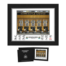 NUFC - Personalised Newcastle United Signed Dressing Room Photo