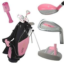 GOLF Girls Rosa Junior Mano Destra Golf Club Set Borsa