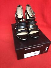 NEW - French Connection Nolinda, size 7.5 and 8 – Black.  Retails $140
