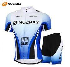 New Cycling Uniforms Jersey Padded Shorts Bicycle Wear Bike Cycle Clothing M-XXL