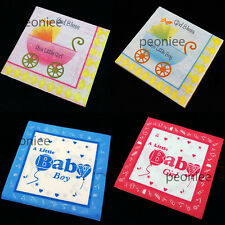 20 counts baby shower printed paper napkins 2 ply party reception cake dining