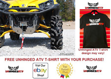 BLACK Can Am Commander Max Ground Clearance Forward Offset Super ATV A-Arms