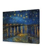 DecorArts Starry Night Over The Rhone by Van Gogh Giclee Print canvas