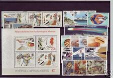 CYPRUS 1986 COMPLETE YEAR SETS MNH