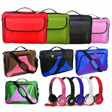 "17.3"" 17"" 16.4"" 15.6"" Inch Laptop Notebook Bag Case +3.5mm Earphone Headphone"