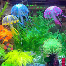 Vivid Glowing Effect Artificial Jellyfish Ornament Fish Tank Aquarium Decoration