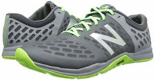 New Balance MX20CG4 Minimus 20v4 Trainer Shoes, Steel with Orca & Chemical Green