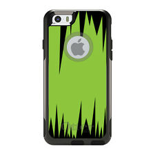 OtterBox Commuter for iPhone 5S SE 6 6S 7 Plus Lime Green Black Spikes