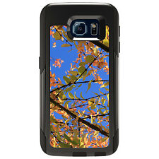 CUSTOM OtterBox Commuter for Galaxy S4 S5 S6 S7 Autumn Leaves Sky