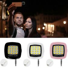 Mini 16 LED Flash LED Luce di riempimento per iPhone IOS Smartphone Android