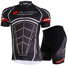 Men Cycling Jersey Breathable Polyester Bicycle Clothing T-shirt Cycle Bike Wear