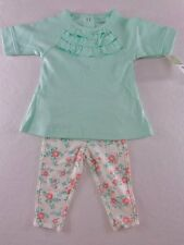 NWT Carter's Playwear 2 Pc Leggings Set Baby Girl's 3 12 18 Months