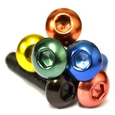 M3 GWR Colourfast® Button Head Screws - A2 Stainless Steel Coloured Socket Bolt