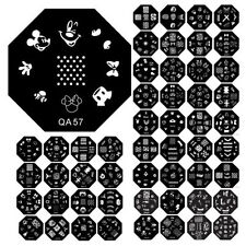 60 Designs Pattern DIY Nail Art Image Stamp Stamping Plates Manicure Template