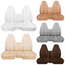 CC  FORD RANGER COTTON CAR SEAT COVERS 60-40 seat+CONSOLE COVER,CHOOSE